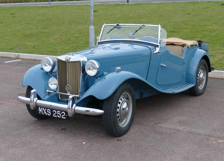 1950 -53 MG TD