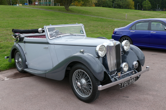 1937 -39 VA Tickford Convertible