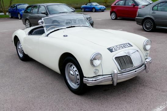 1955 - 62 MGA