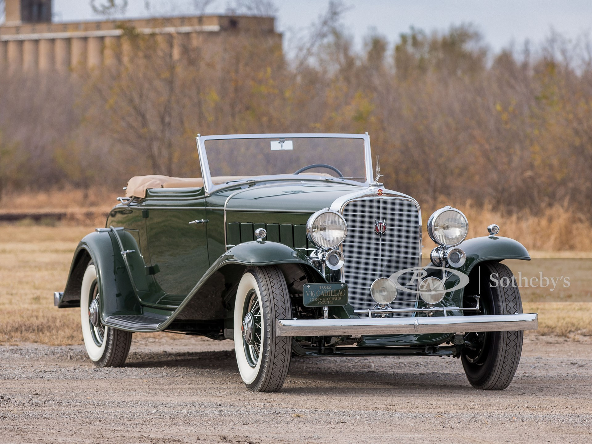 1932 Cadillac V16 Convertible Coupe by Fisher