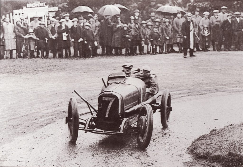 1922 June 22 IoM TT Chassagne Laly Ramsey Hairpin