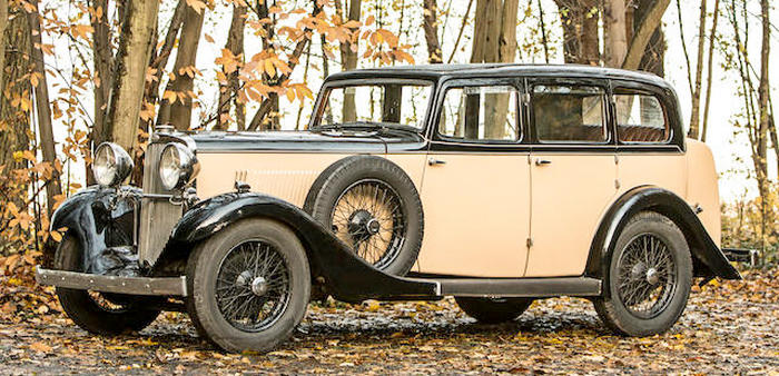 1934 Sunbeam 25 Sportive