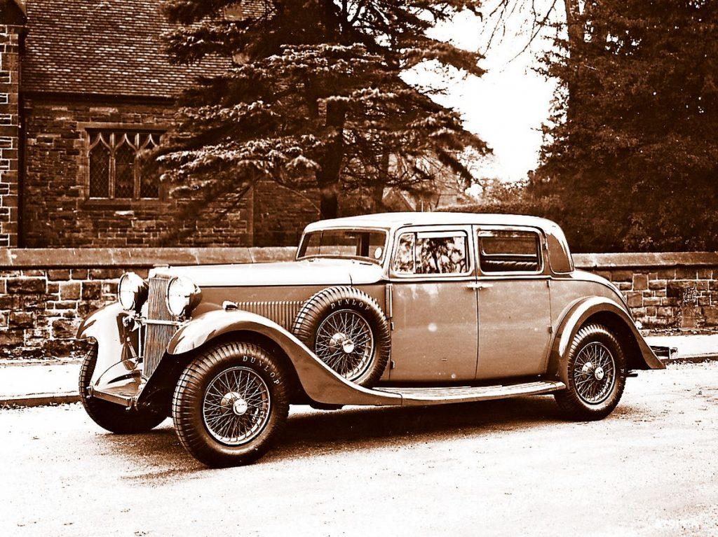 1934 Sunbeam 25 4 door coupe