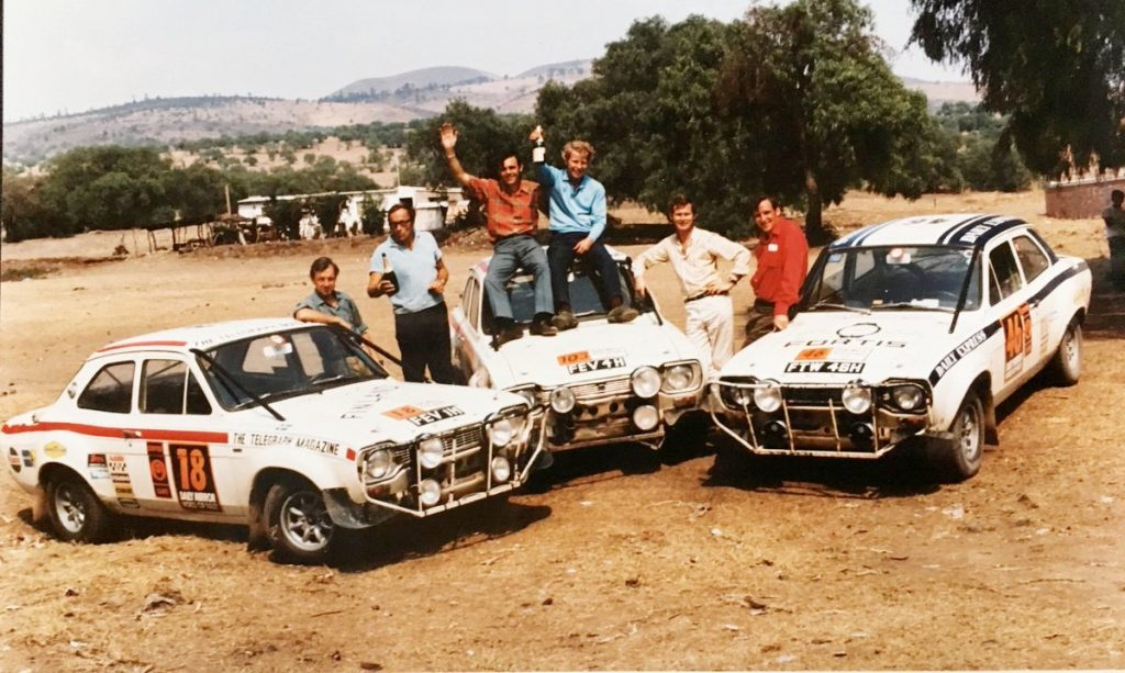 Ford Escort wins World Cuo Rally