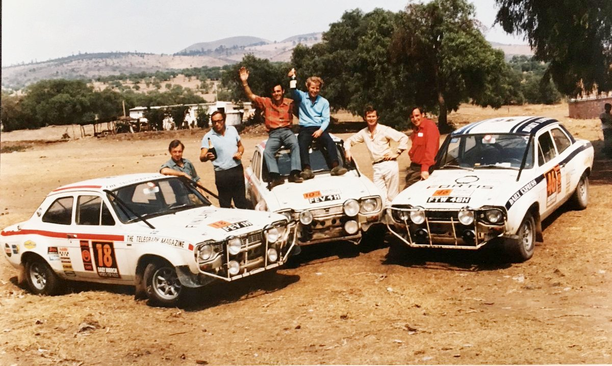 Ford Escort wins World Cuo Rally
