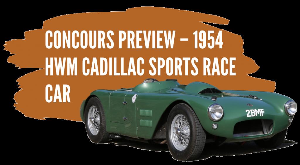 1954 HWM Cadillac