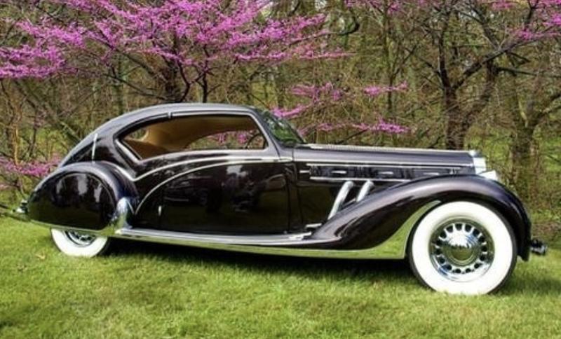 1938 Delage D8 -120 Coupe by Letourneur & Marchand.