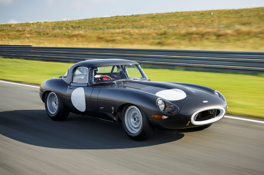 Jaguar Lightweight E Type continuation. Lightweight