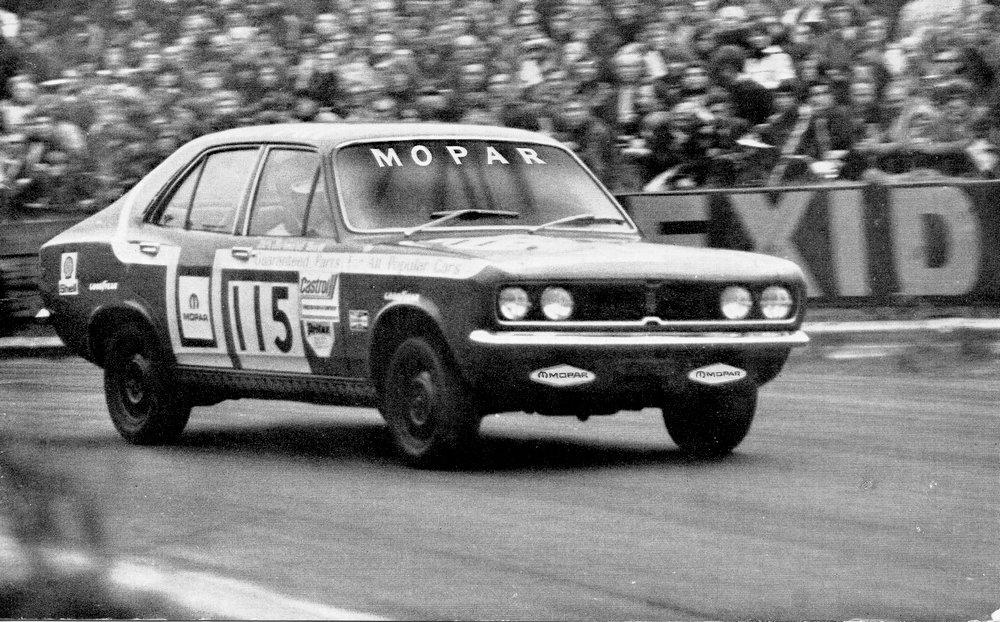 Mopar Avenger driven by Bernard Unett