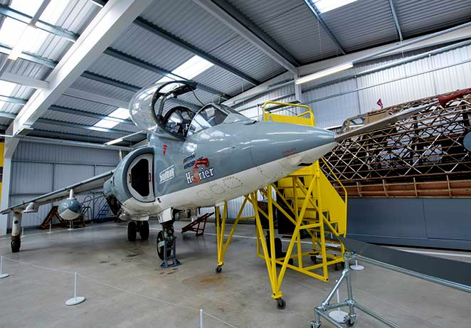 Hawker Siddeley Harrier at Brooklands