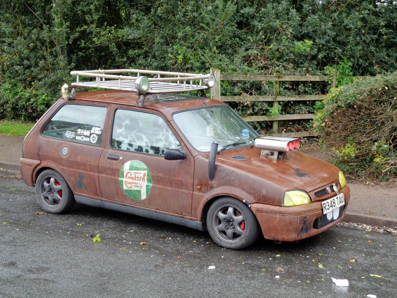 Ratty - Rover Metro