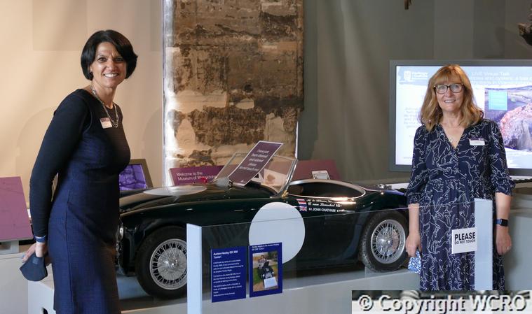 Healey Exhibition Hosts