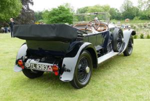 1925 Rolls Royce Silver Ghost Tourer by Barker
