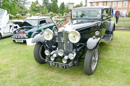 1930s Lagonda Pillarless Saloon