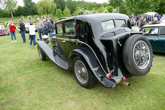 1930s Lagonda M45 Pillarless Saloon