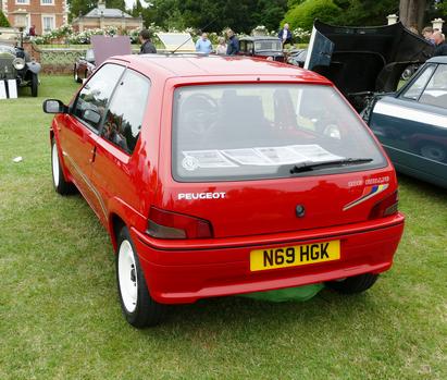 1996 Peugeot 106 Rallye