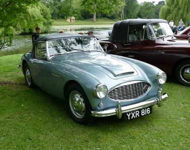 c.1959 Austin healey 3000 Mk I