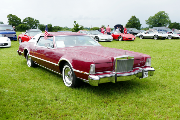 1976 Lincoln Continental Mk. IV 2 door coupe