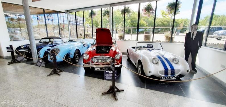 Healey's Cyder car collection