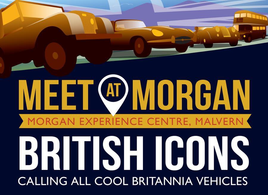 A Morgan Day of British Icons