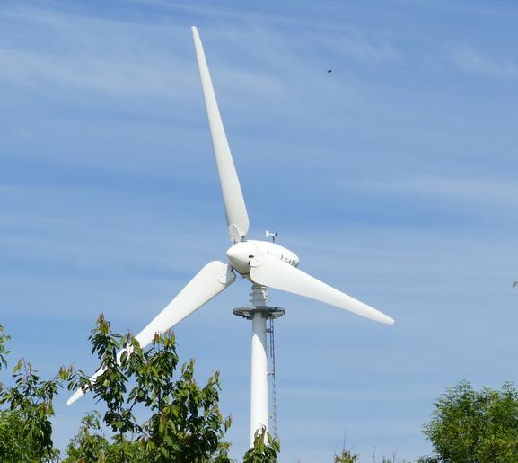 Healey Cyder Farm's Wind Turbine