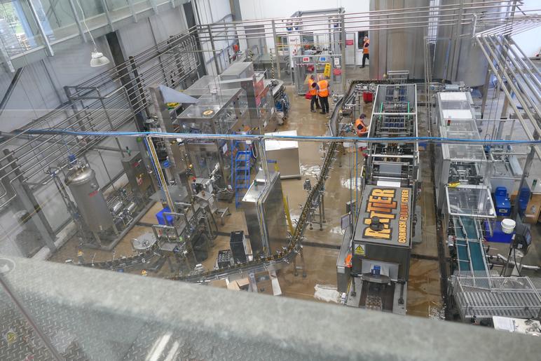 Healey Cyder Farm production line