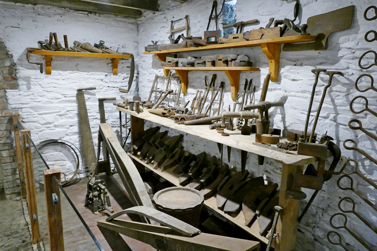 Barrel making tools from yesteryear