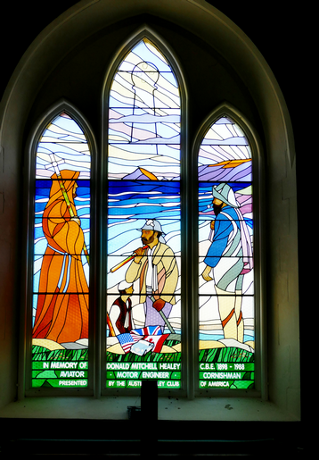 Donald M. healey Memorial Window