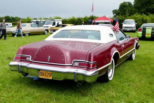 1976 Lincoln Continental Mk. IV 2door coupe.