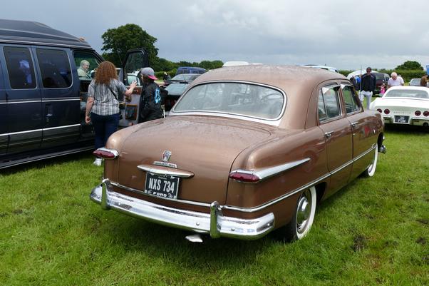 1950 Ford Custom Four door Sedan