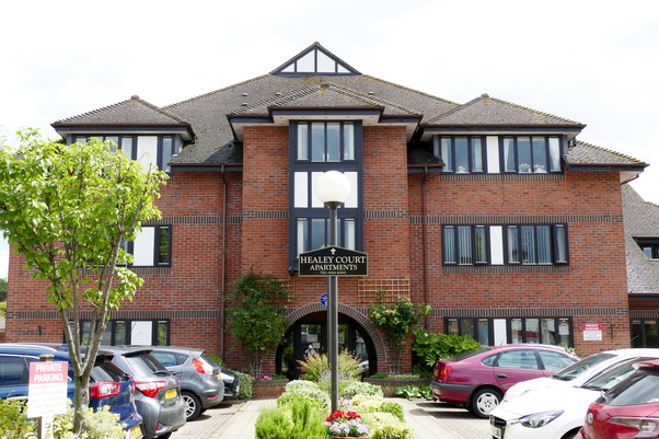 Healey Court, Warwick, built on the former site of the Donald Healey Motor Company