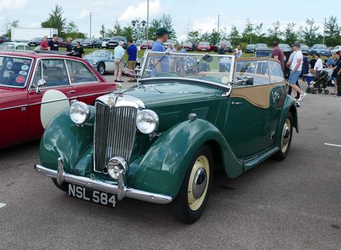 1949 MG Y Type Tourer