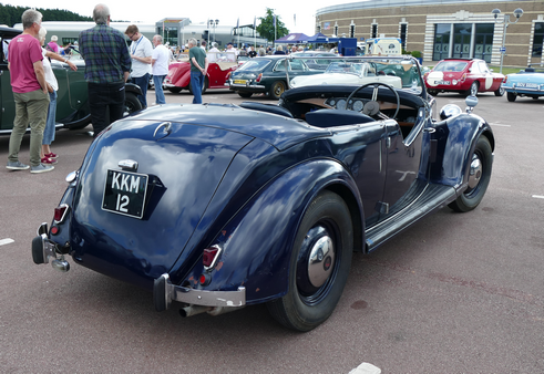 Late 1930s Rover 12 Sports Tourer