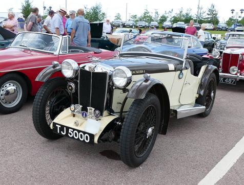 1936 MG PB Supercharged