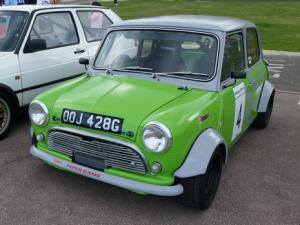 An Earley Mini in Race Tune