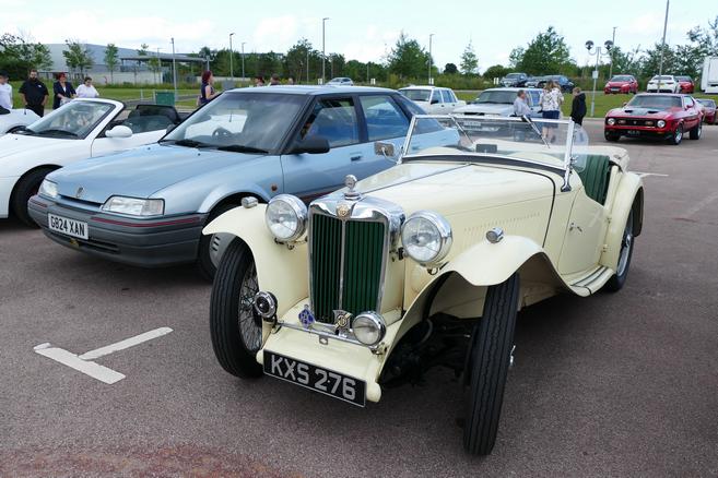 c. 1948 MG TC