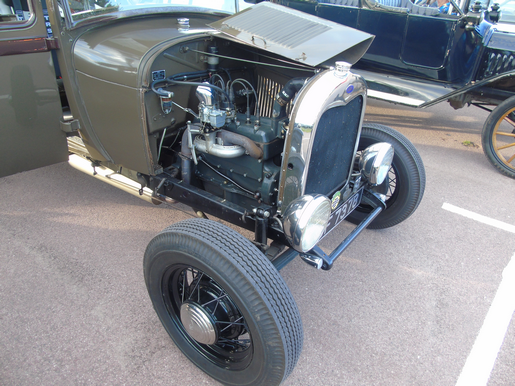 Ford A Series side valve engine