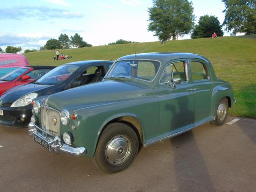 1950s Rover P4