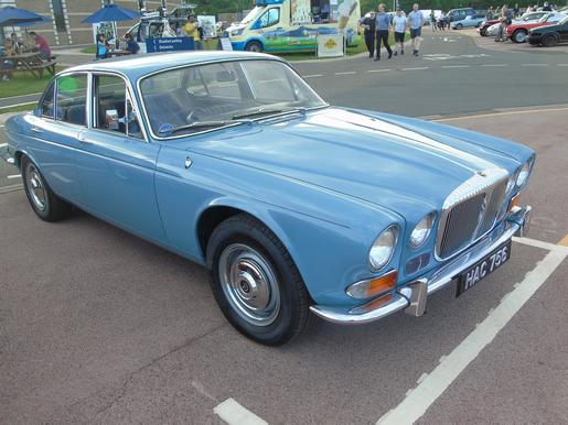 Early 1970s Daimler Sovereign
