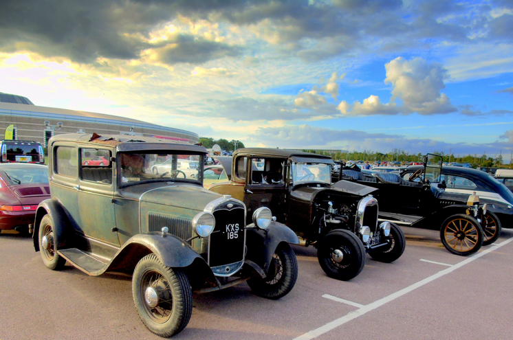 Ford Model A Two Door Saloon