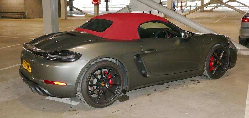 2020 Porsche Boxster Cabriolet