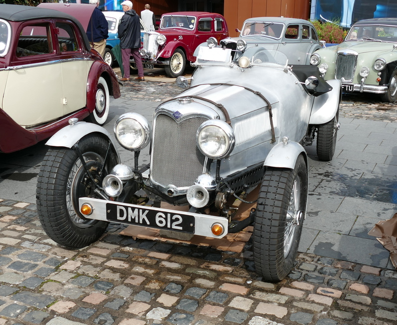 Riley 9 Special on a Kestrel chassis