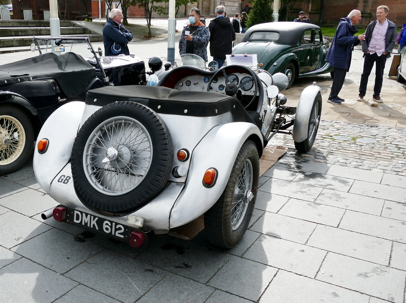 Riley 9 Special on a Kestrl chassis