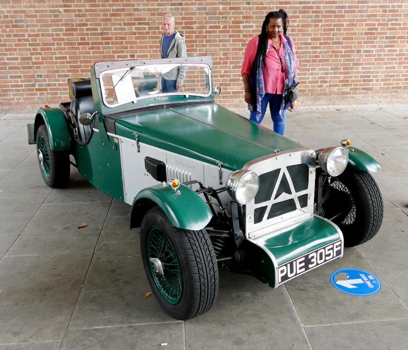 Burlington Arrow Triumph Vitesse based kit car
