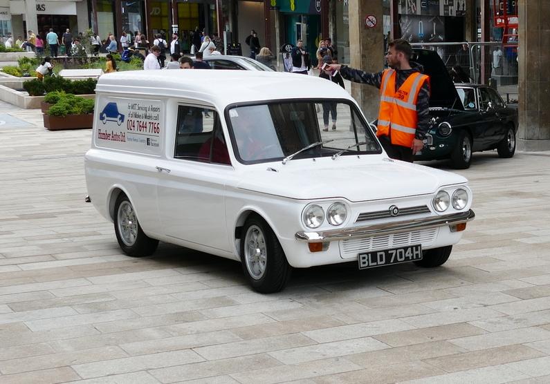 Customised Hillman Imp Van