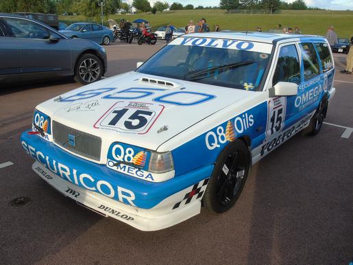 Ex British Saloon Car Championship Volvo 850