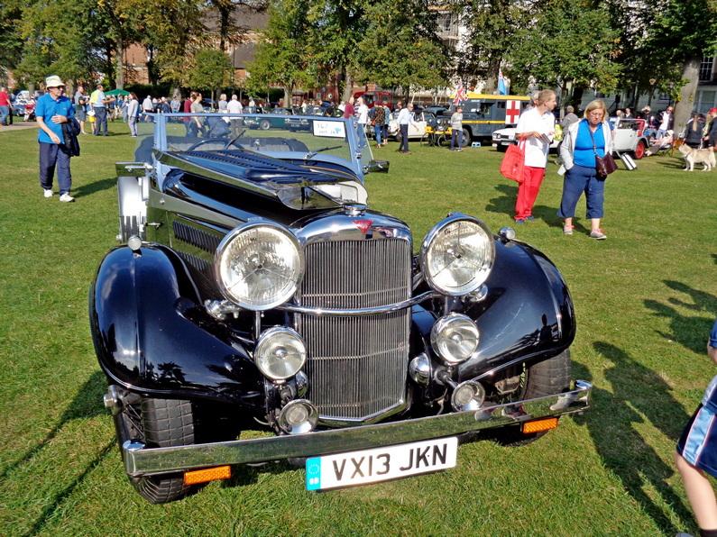 1938 Alvis 4.3 Ltr. Short Chassis Tourer by Van den Plas