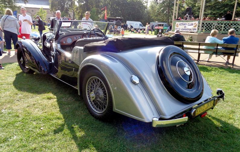 1938 Alvis 4.3 Ltr. Short Chassis Tourer by Vanden Plas