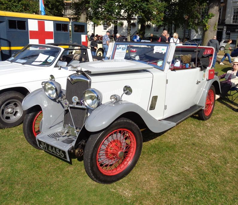 c.1933 Riley 9 Ascot DHC