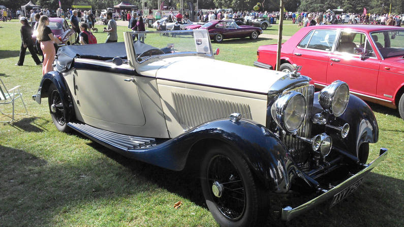 1934 Bentley 3 1/2 Ltr. DHC by Park Ward